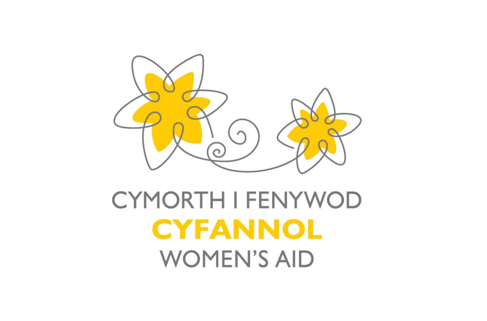 New logo design for Cyfannol Women's Aid