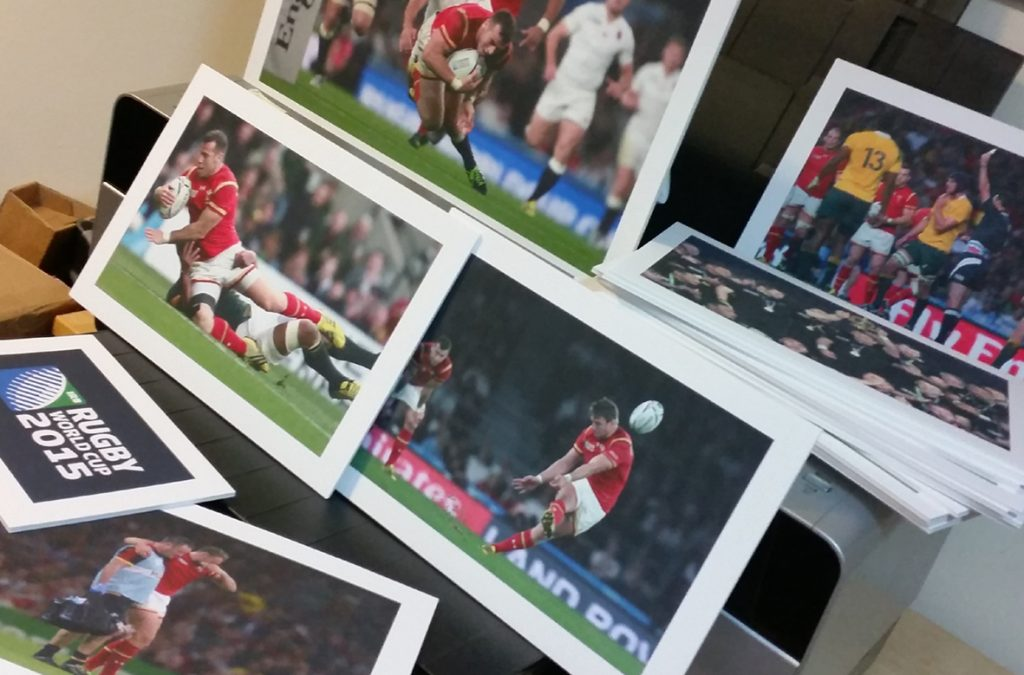 Tackling a late request for quality printing
