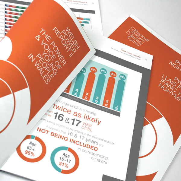 Infographics and design for timely report