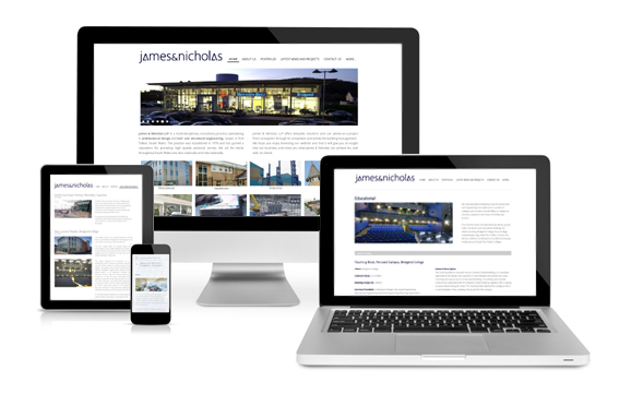 James & Nicholas build on success with new company website construction