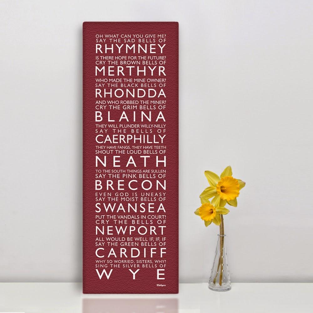 Happy St Davids Day from Wales / Dydd Gwyl Dewi Hapus