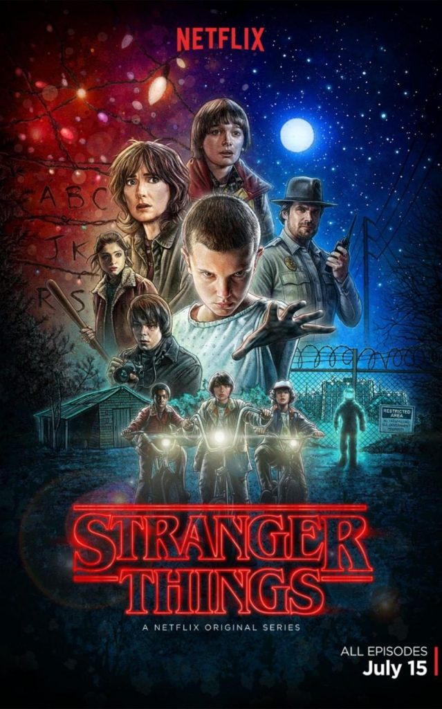 Typography of Stranger Things