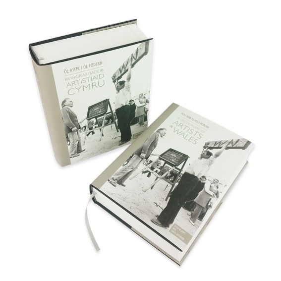 Designworld are proud to have worked on the first illustrated book of post-war artists and applied artists in Wales
