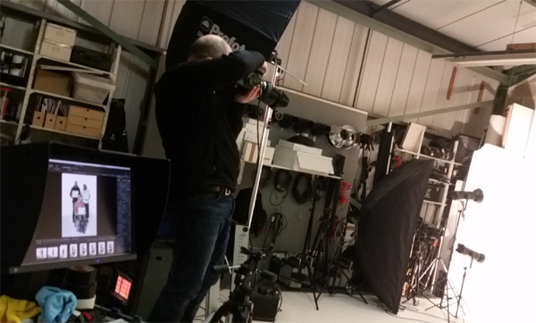 Photography shoot for Headway Cardiff
