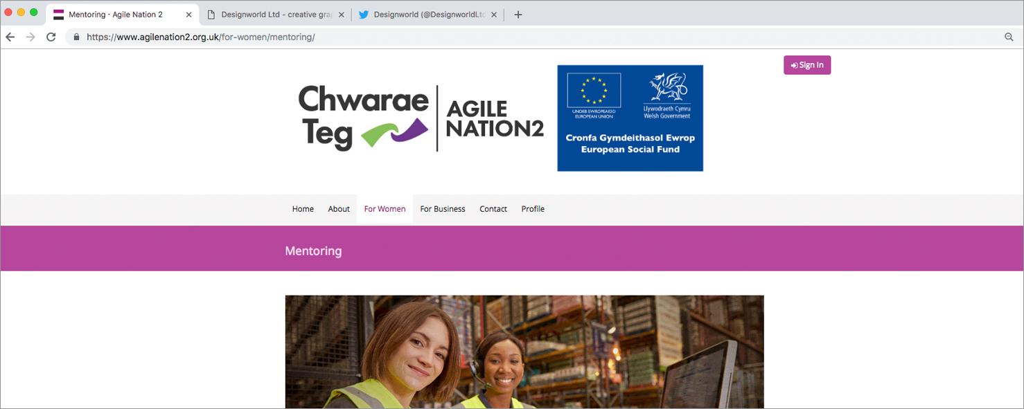 Becoming a Chwarae Teg Mentor