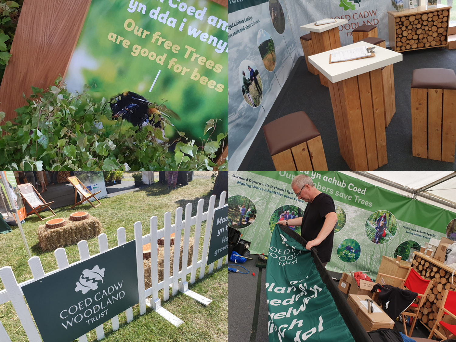 Woodland Trust at the Royal Welsh Show